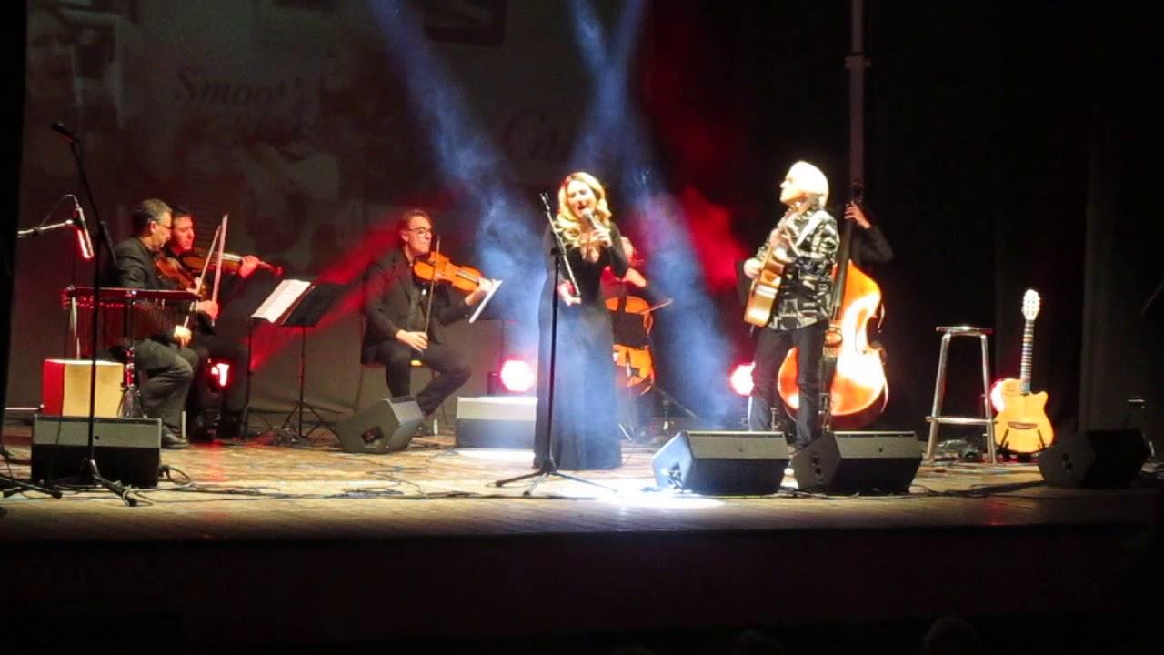 piero del prete e Alyssa a Guitar&Voice a Teatro
