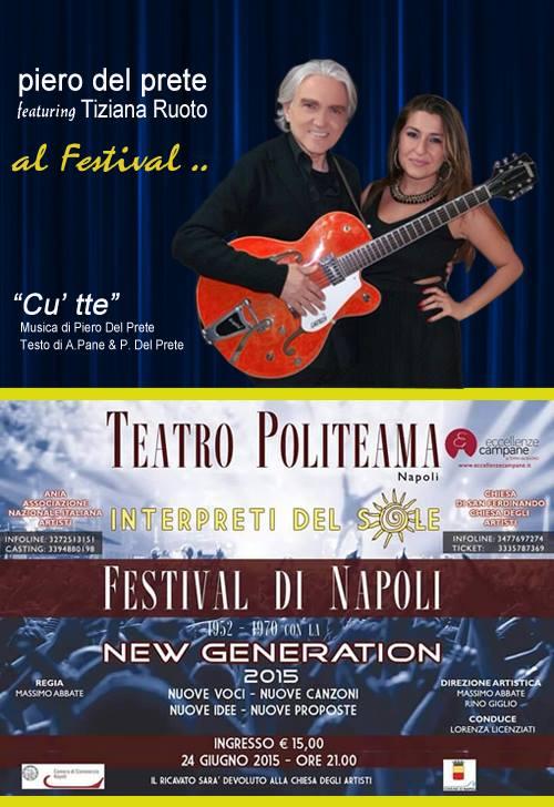 piero del prete al Festival di Napoli